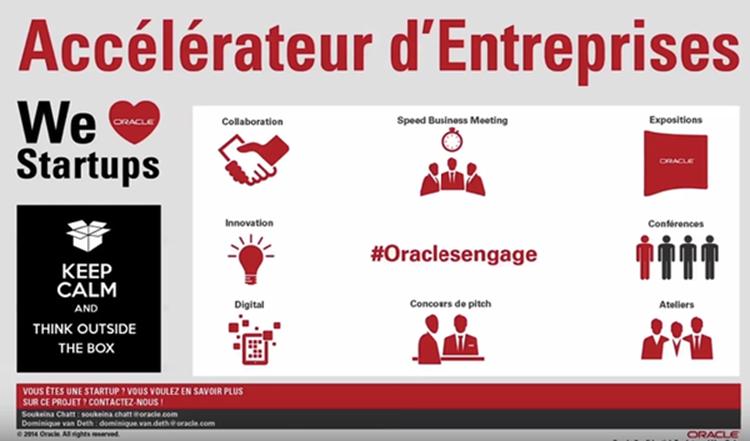 We love startups Oracle France