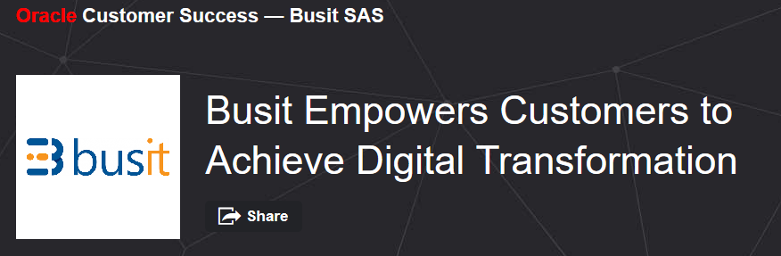 Busit Oracle Digital Transformation